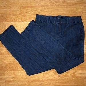 WHITE HOUSE BLACK MARKET blue jeans
